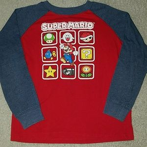 Super Mario long sleeve t-shirt